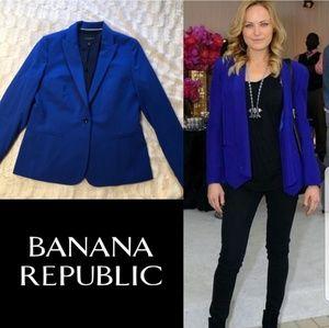 Banana Republic Royal Blue Blazer